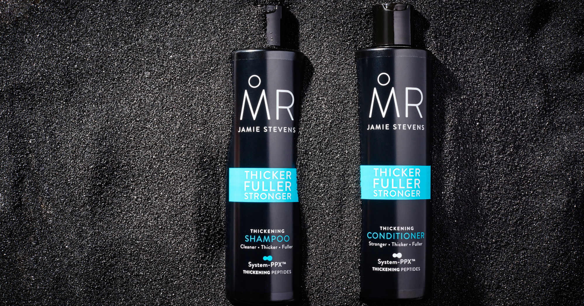 Hair care banner image Shampoo and conditioner